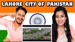 Indian Girl Reaction  On  Lahore City of Pakistan 2018 Revolutionary Change | Krishna views