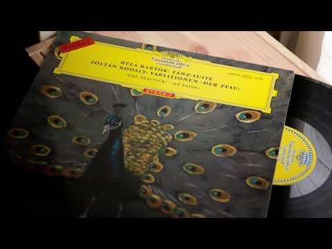 """Zoltán Kodály Variationen Über Ein Ungarisches Volkslied """"Der Pfau"""" György Lehel 1964 LP"""