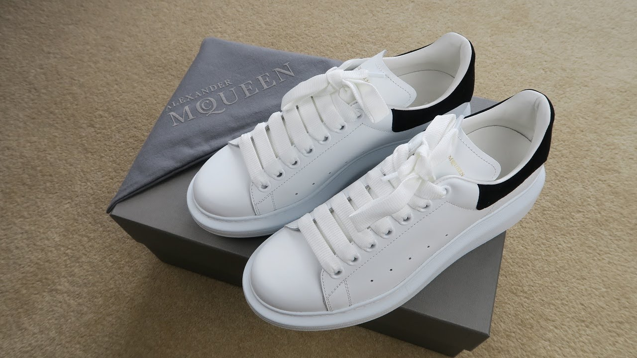 A Closer Look at Alexander Mcqueen Oversized Sneakers Review and Unboxing