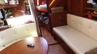 3. Cabin Tour - Liveaboard Sailboat Vagabond 42 Fellowship