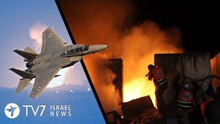 IAF allegedly strikes Syria; Clashes erupt in Lebanon; U.S. warns Iran TV7 Israel News 14.10.21