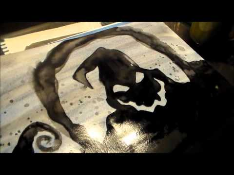 Nightmare Before Christmas Painting Part 35