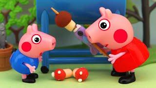 Wrong mushrooms, Peppa Pig Animation, 4K