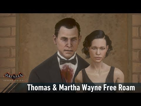 MESH; Batman; Arkham Knight; Thomas & Martha Wayne Free Roam