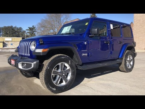 2019 Jeep Wrangler Ocean Blue Metallic