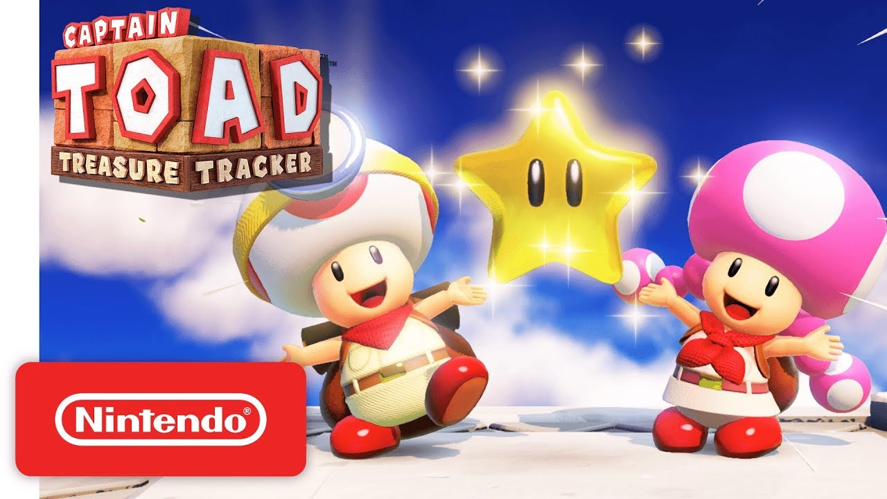 Captain Toad: Treasure Tracker' on Switch Has Hidden