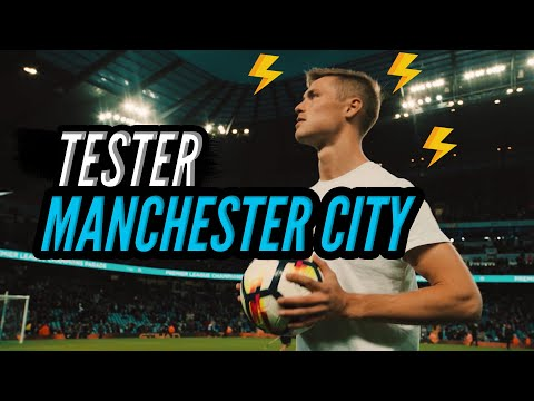 Football Freestyle with Manchester City