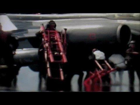 Sailor series -Aircraft from HMS Ark Royal at  Vieques weapons range