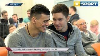 Известные украинские спортсмены снялись в социальных роликах