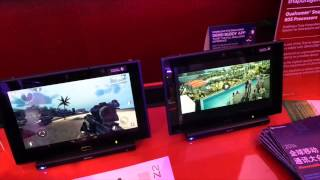 Qualcomm 4K tablet video demo