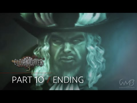 Clock Tower 3 Playthrough - Final Boss Lord Burroughs / Ending - Part 10 (5th Stage)