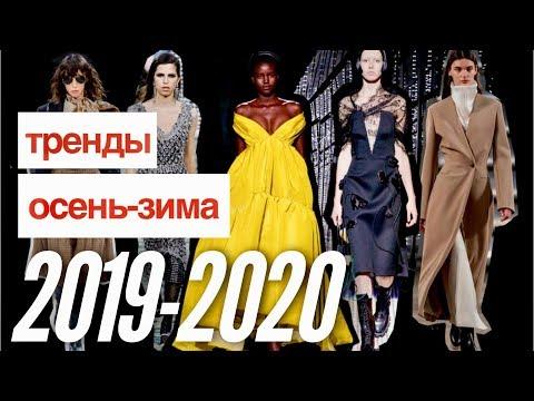 Тренды осень-зима 2019-2020. Часть 1: Одежда