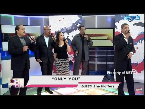 THE PLATTERS - ONLY YOU (NET25 LETTERS AND MUSIC)