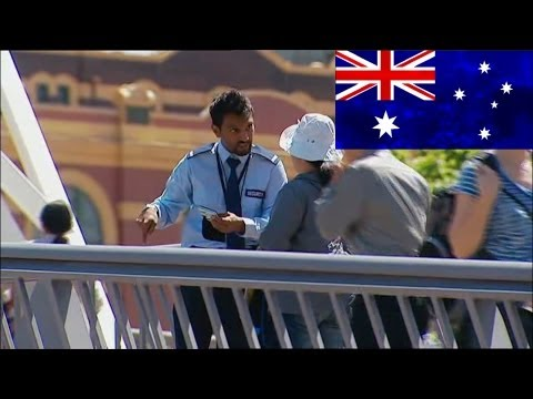 Very Foreign Correspondent Security Guard - Balls of Steel Australia