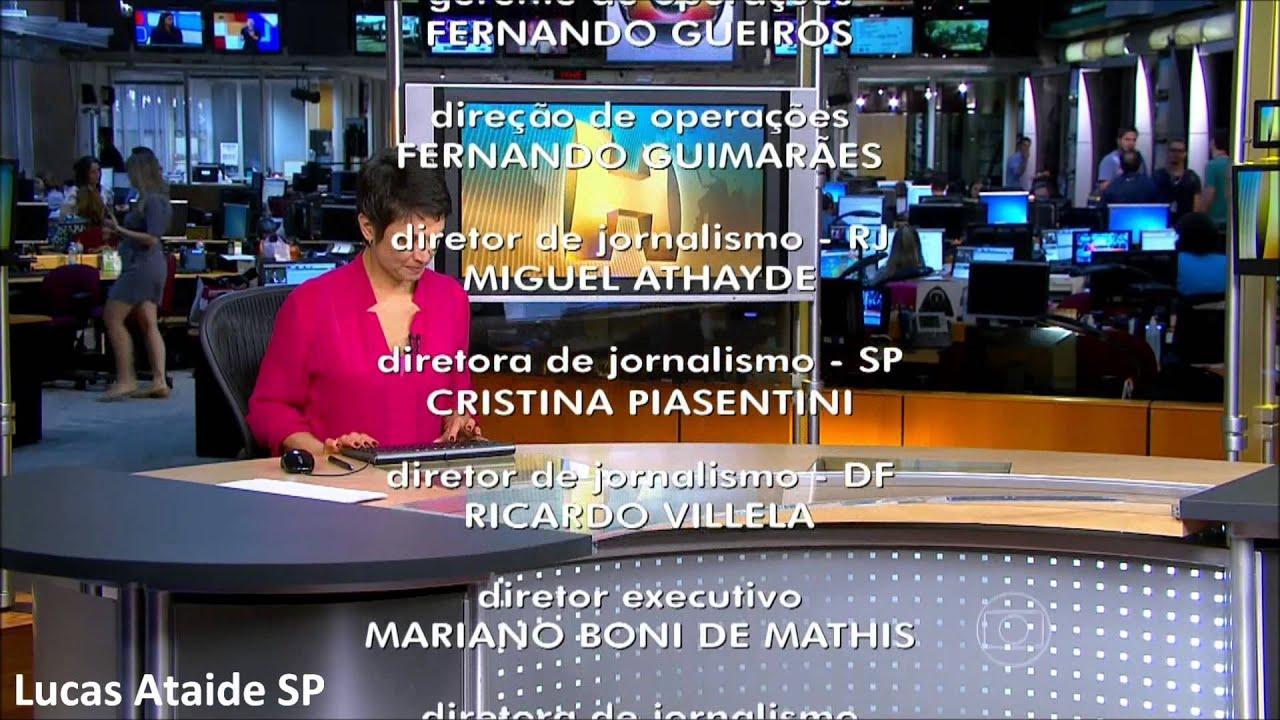 HD Encerramento Do Jornal Hoje 18 02 2014 YouTube