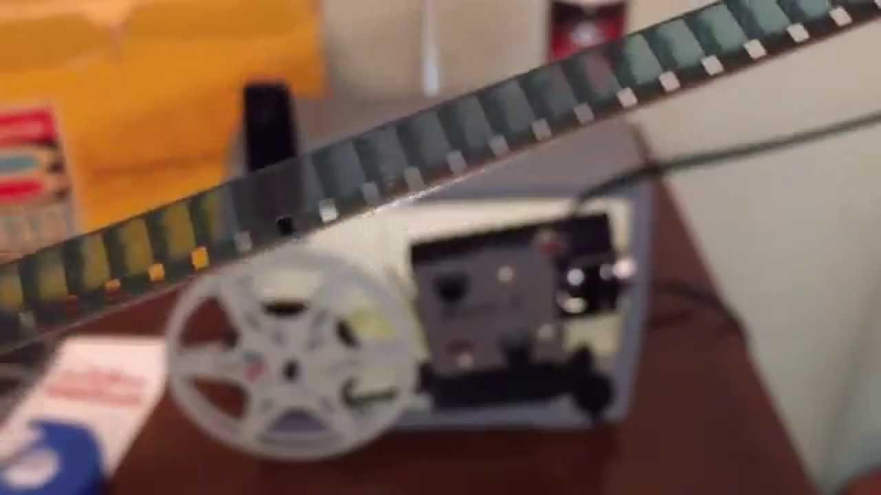 Kodak 8mm Film Projector model Brownie A-15