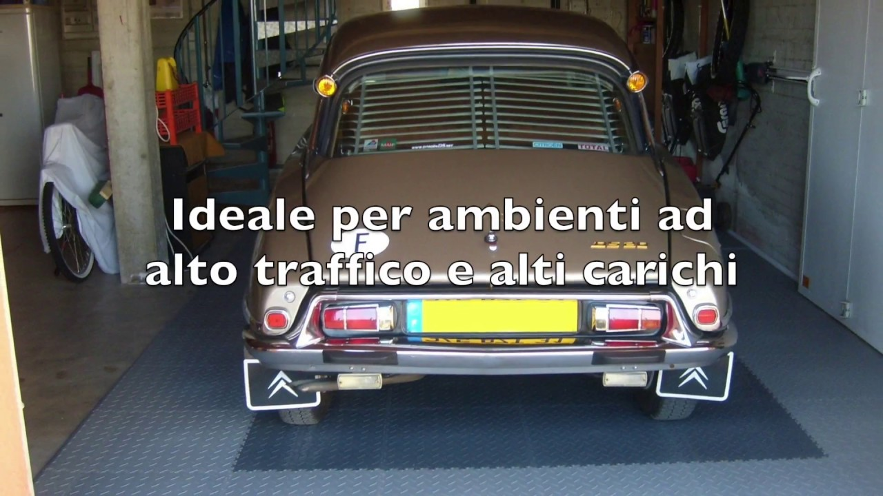 Pavimenti per garage la selezione bricoflor youtube for Costruendo un garage per 2 auto