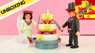 Playmobil 4298 | Pareja de novios y torta de bodas