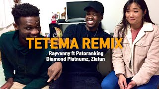 Rayvanny Ft Patoranking, Diamond Platnumz, Zlatan - TETEMA REMIX REACTION VIDEO(Swahili &English)