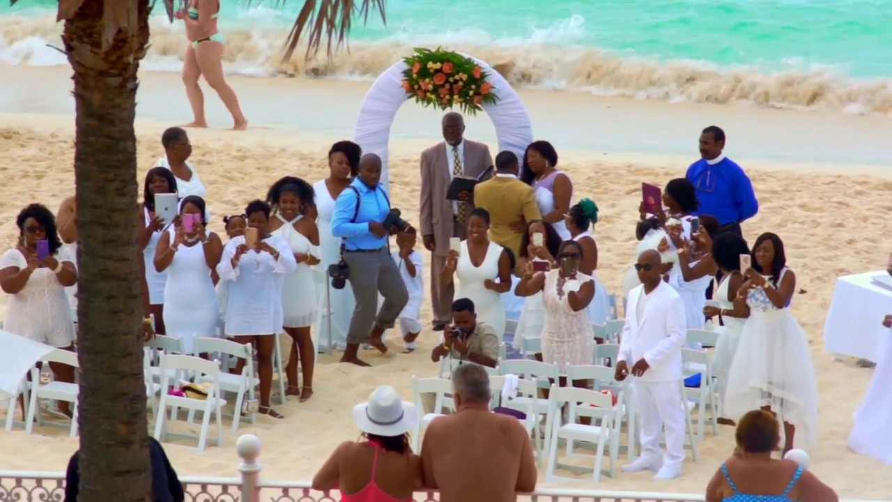 Riu Beach Wedding