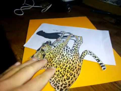 Tigre en 3D  YouTube