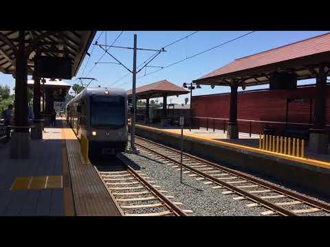 Gold Line at Monrovia Station
