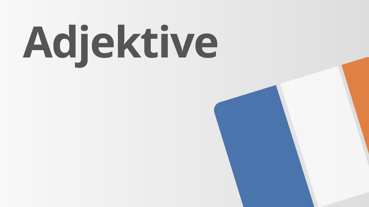 Ein Überblick über die Steigerung der Adjektive | Französisch ...