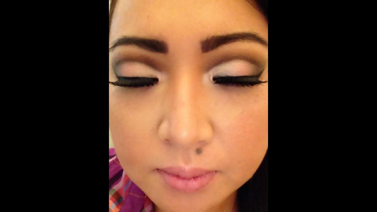 Youtube Eye Makeup Tutorial: MAKEUP CUT CREASE EM OLHOS ORIENTAIS/ MAKEUP FOR ASIAN