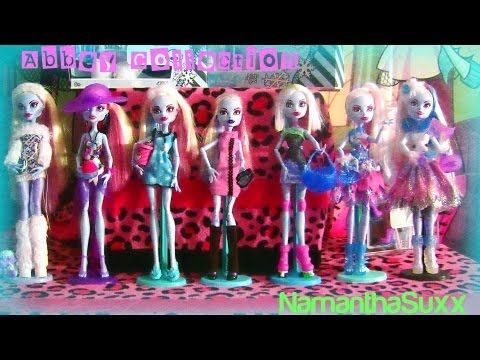 Monster High Abbey Bominable Collection!!!