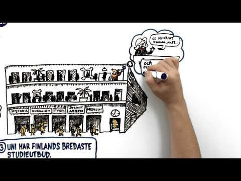 Följ ditt hjärta – Välj Finlands mesta universitet