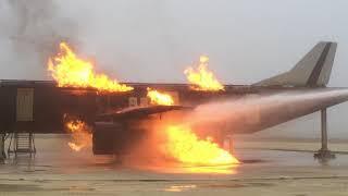 Formation pompier aéroport C2FPA 2017