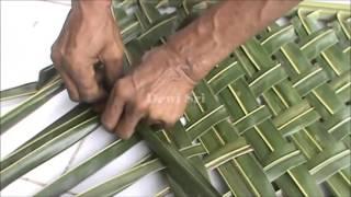 Cara Membuat Klangsah Biasa Dalam 2 Menit - Anyaman Daun Kelapa