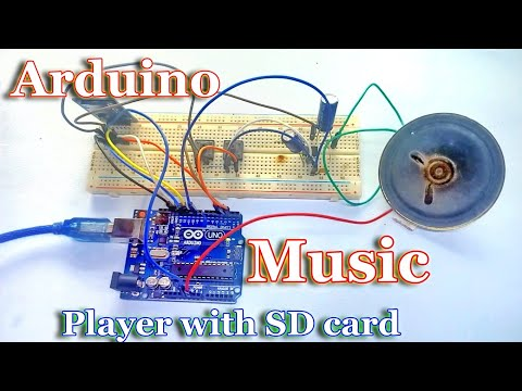 Arduino music player by using SD card