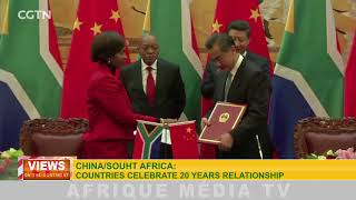 VIEWS ON THE CONTINENT CHINA/SOUTH AFRICA DU 03 01 2018