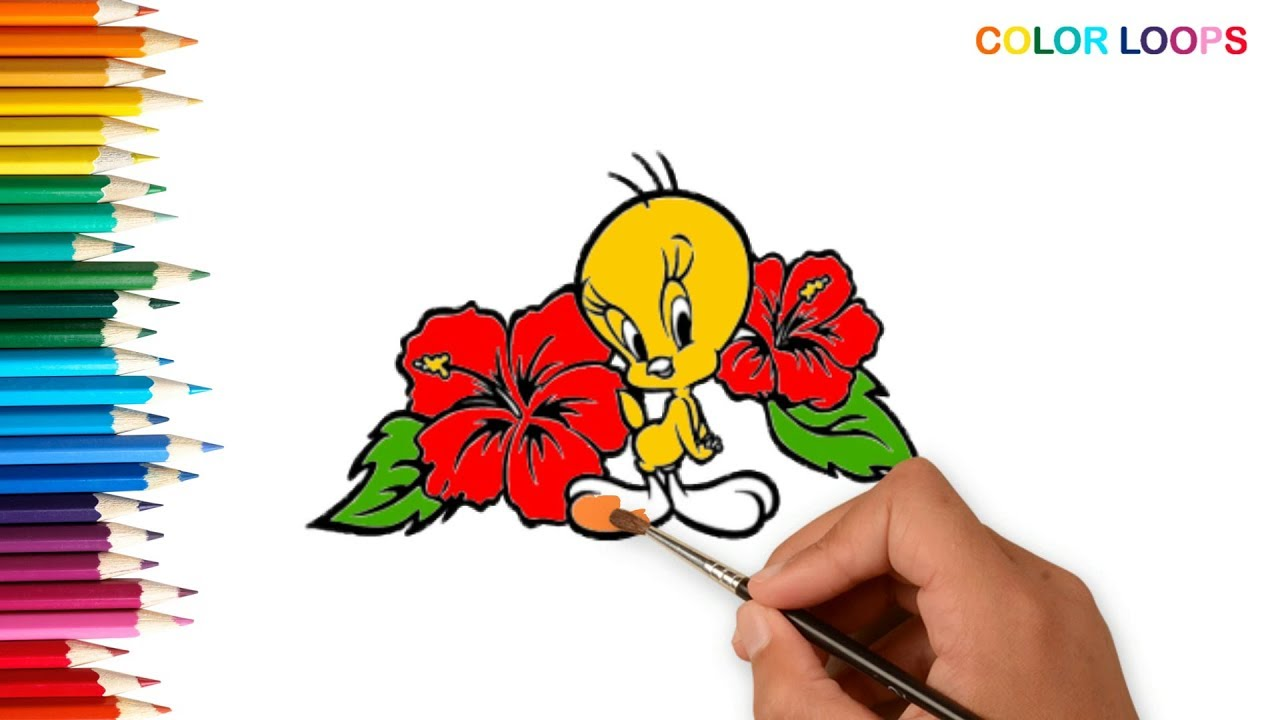 Free Coloring Pages Of Tweety, Download Free Clip Art, Free Clip ... | 720x1280