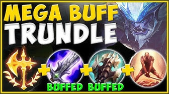 STOP LOSING ELO! NEW ITEM BUFFS MAKE WINNING ON TRUNDLE EVEN EASIER THAN BEFORE! - League of Legends