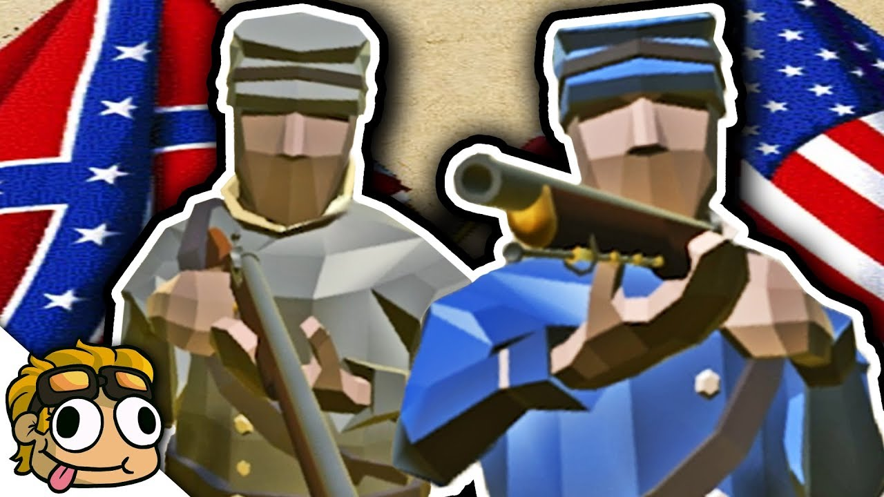 AMERICAN CIVIL WAR MOD! | Ravenfield Best Mods Gameplay