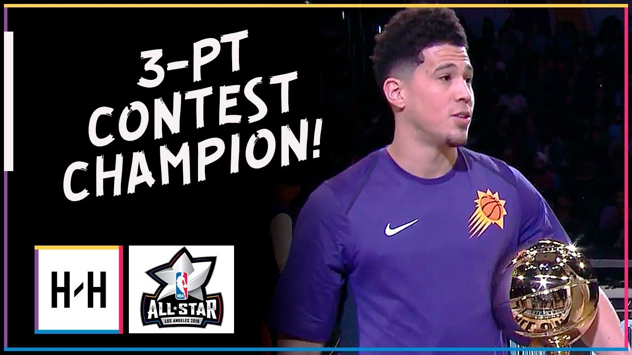 devin-booker-champion-full-highlights-at-2018-all-star-three-point-contest-breaks-the-record