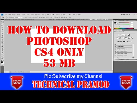 How To Download And Install Adobe Photoshop CS4 Full Version 2019