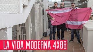 La Vida Moderna 4x88... es presentarse a Eurovisión con la canción de la mochillo