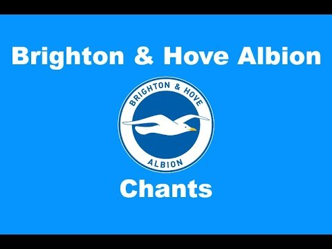 Brighton and Hove Albion's Best Football Chants Video | HD W/ Lyrics