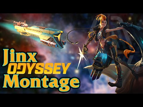 ODYSSEY JINX MONTAGE GAMEPLAY | League of Legends Gameplay