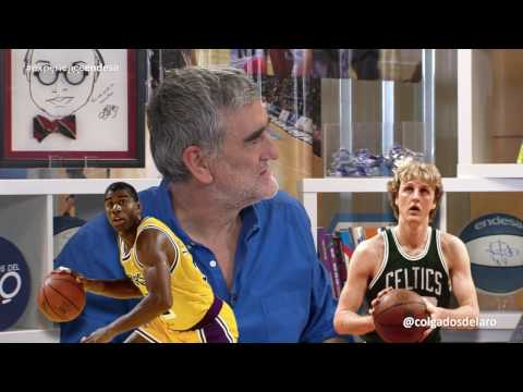COLGADOS DEL ARO T2 -  ¿Larry Bird o Magic Johnson? El debate - Semana 10 #CdA46