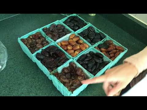 18 VARIETY of Fresh ORGANIC DATES From The Date People!!!
