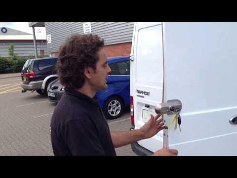 Ultimate Van Lock - Demonstration of how it works - OLD Design Ultimate