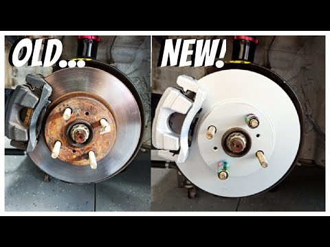 How to Replace Front Brakes, Pads, Rotors and Brake Lines (Complete Guide)