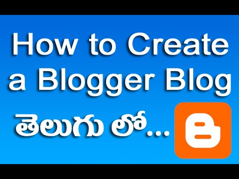 How To Create Blogger Blog Tutorial In