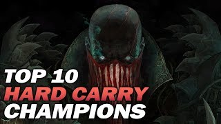 Top 10 SOLO HARD CARRY Champions in Season 9