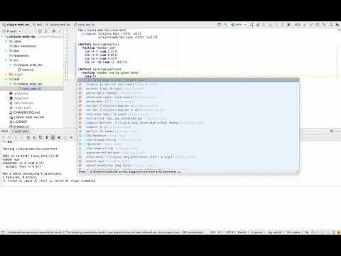 Clojure testing