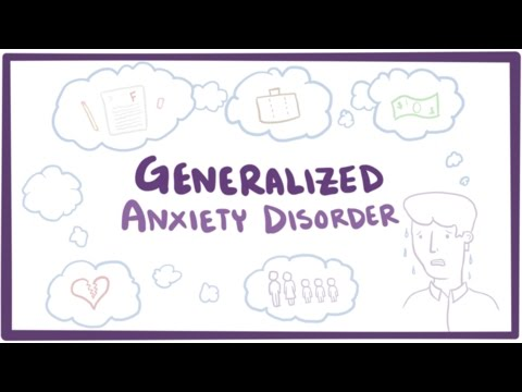 Generalized anxiety disorder - symptoms & treatment